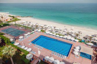 У каких отелей Шарджи есть собственные пляжи