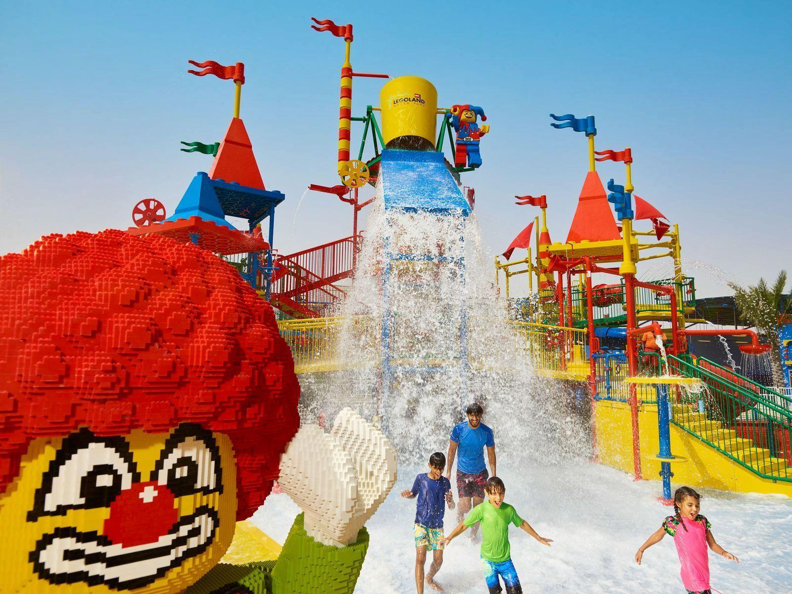 Обзор аквапарка Legoland Water Park