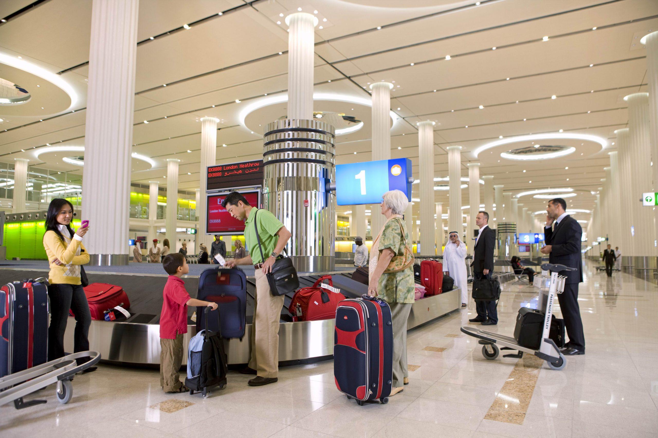 Ограничения по багажу в Дубае