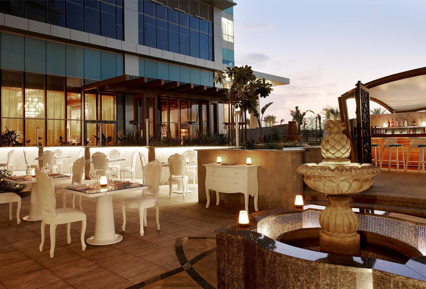 Гастрономический рай The Terrace on the Corniche