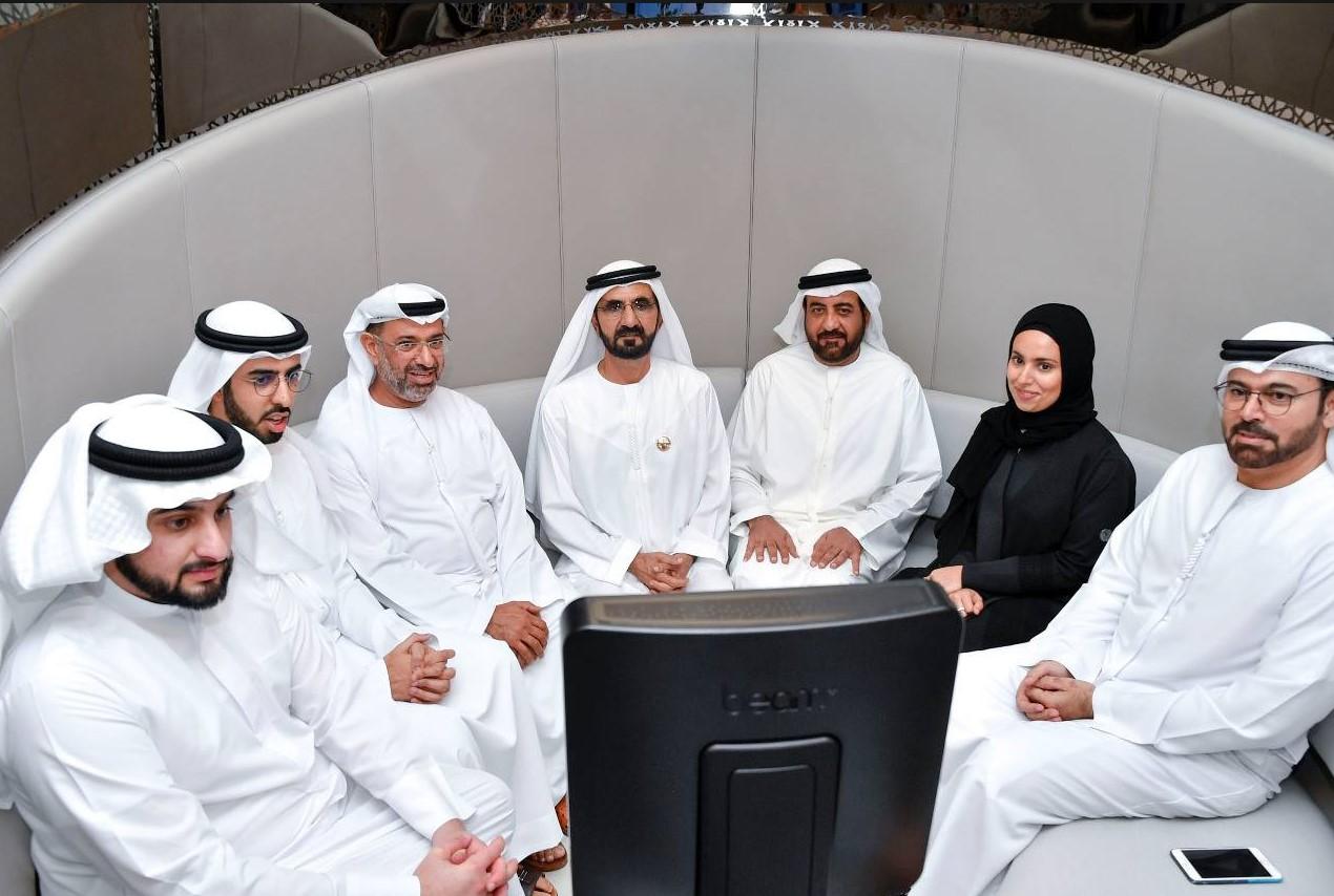Фото семи шейхов ОАЭ