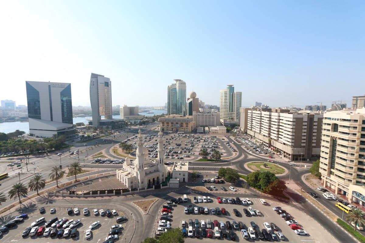 Фото района в Дубае
