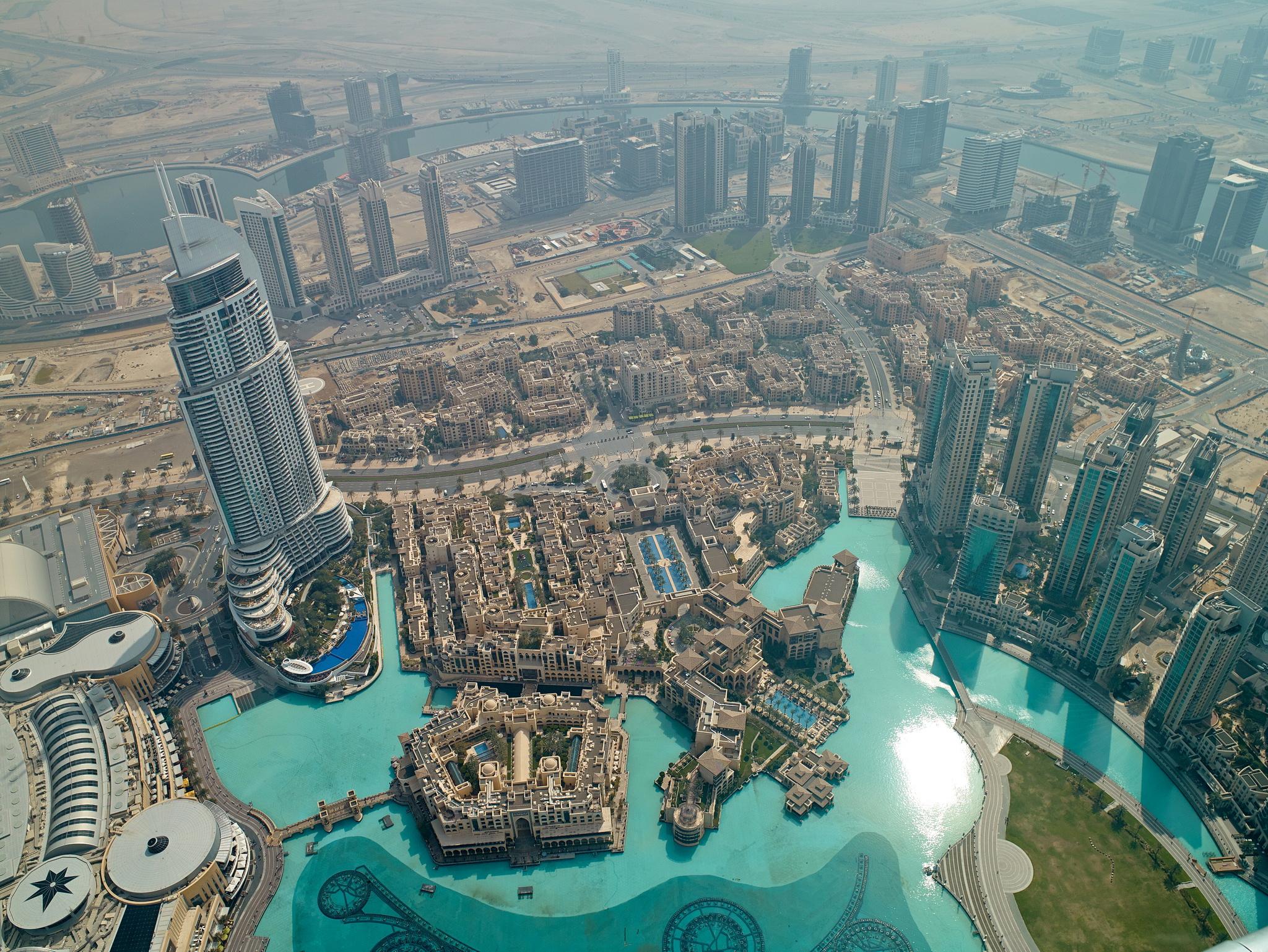 Фото района сверху