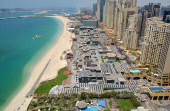 Фото района Джумейра в Дубае