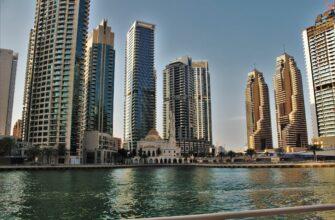 Фото района Марина в Дубае