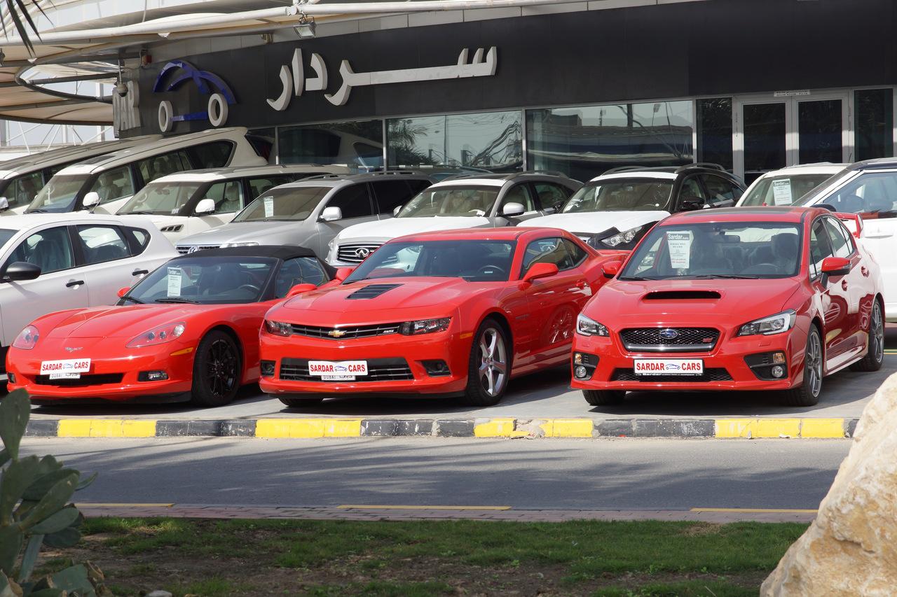 Фото рынка автомобилей