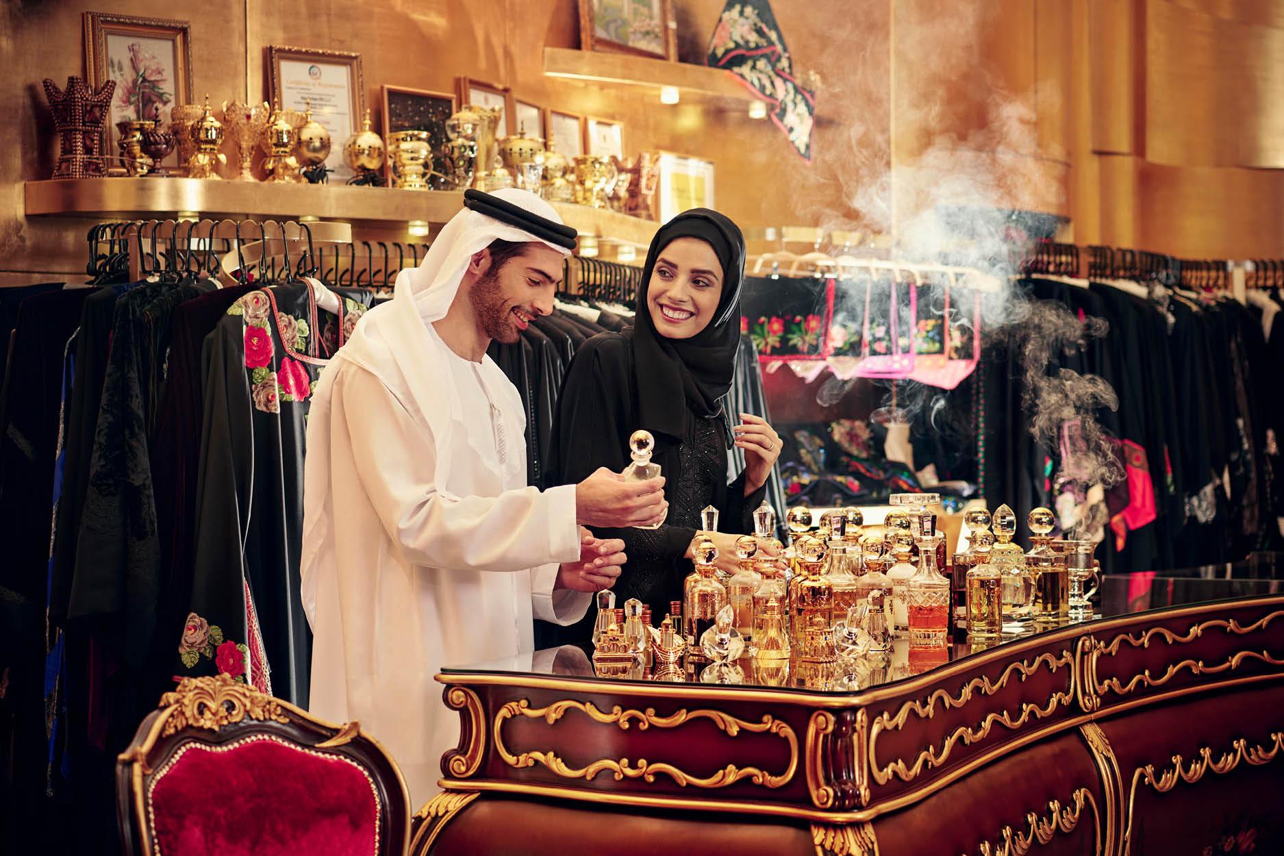 На рынке парфюмерии
