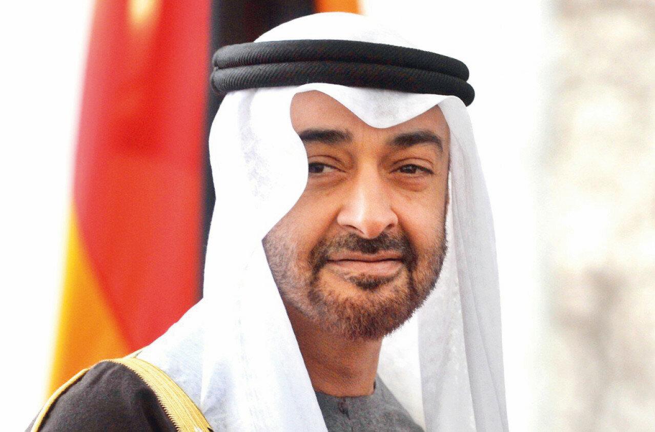 Фото шейха Мухаммед ибн-Зайд Аль-Нахайян