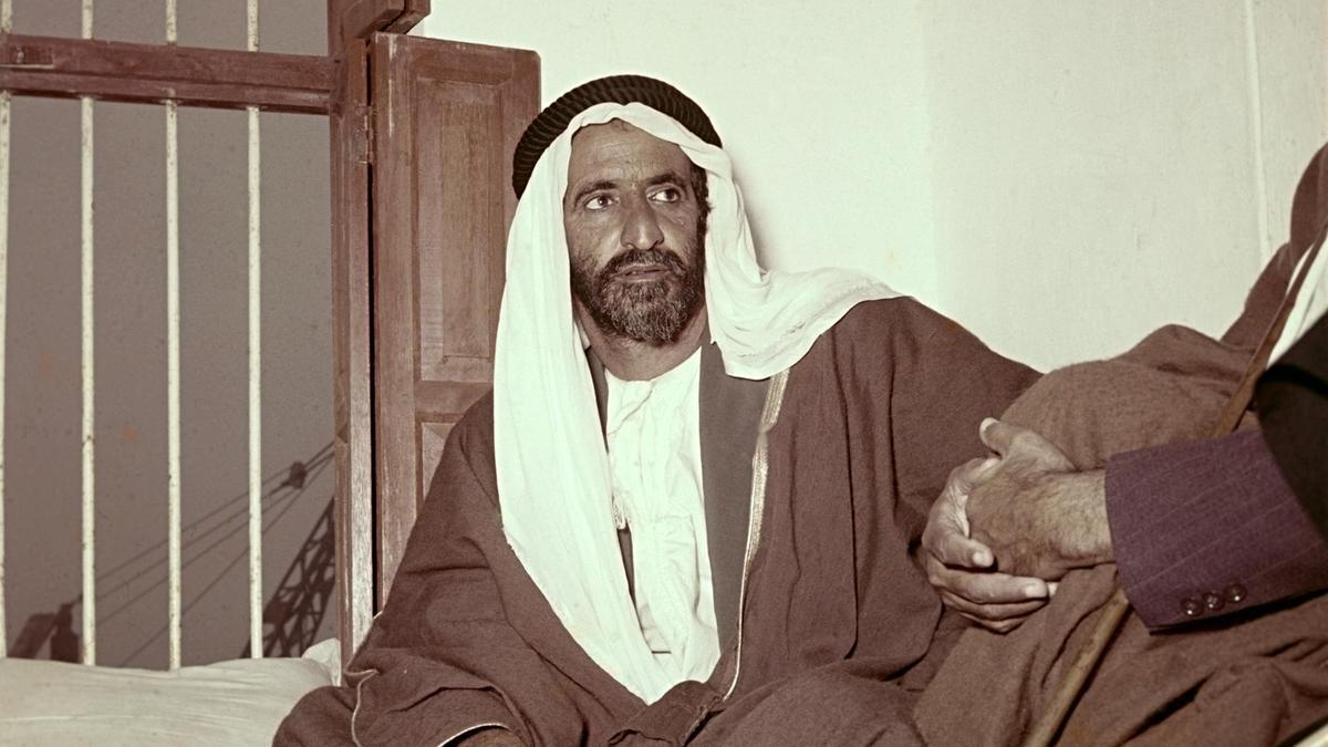 Фото шейха Рашид ибн-Саид Аль-Мактум
