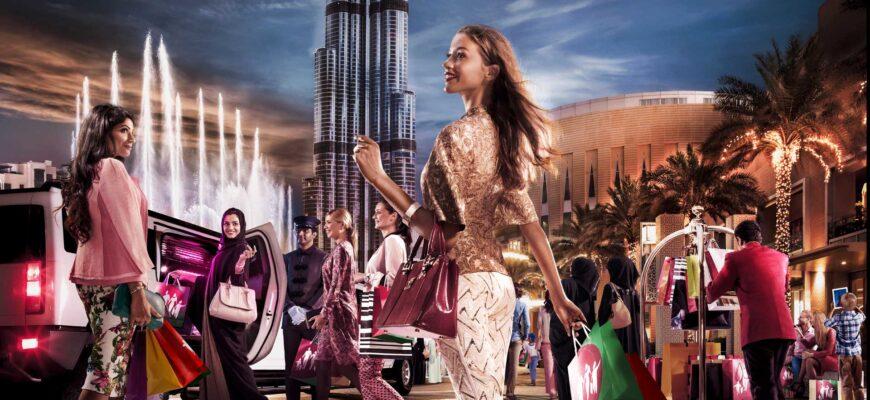 Фото ТЦ в Дубае