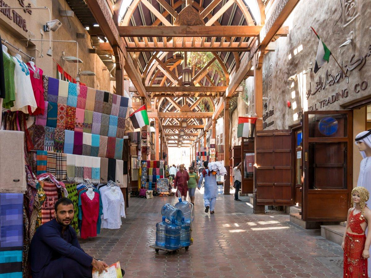 Фото текстильного рынка