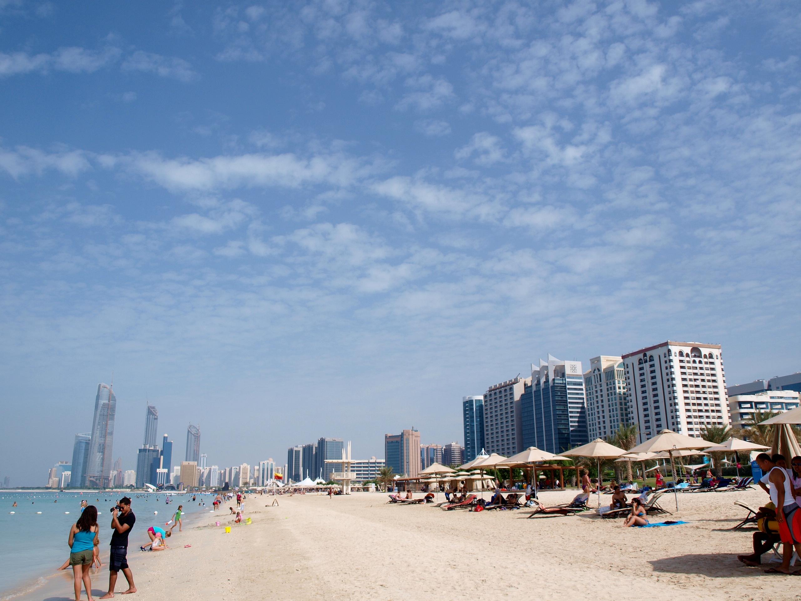 Фото пляжа Аль-Корниш в Шардже