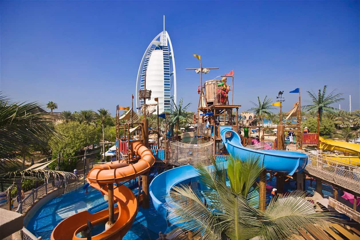 Фото аквапарка в Дубае