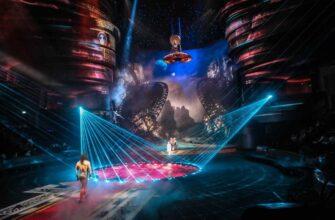 Фото шоу La Perle by Dragone в Дубае