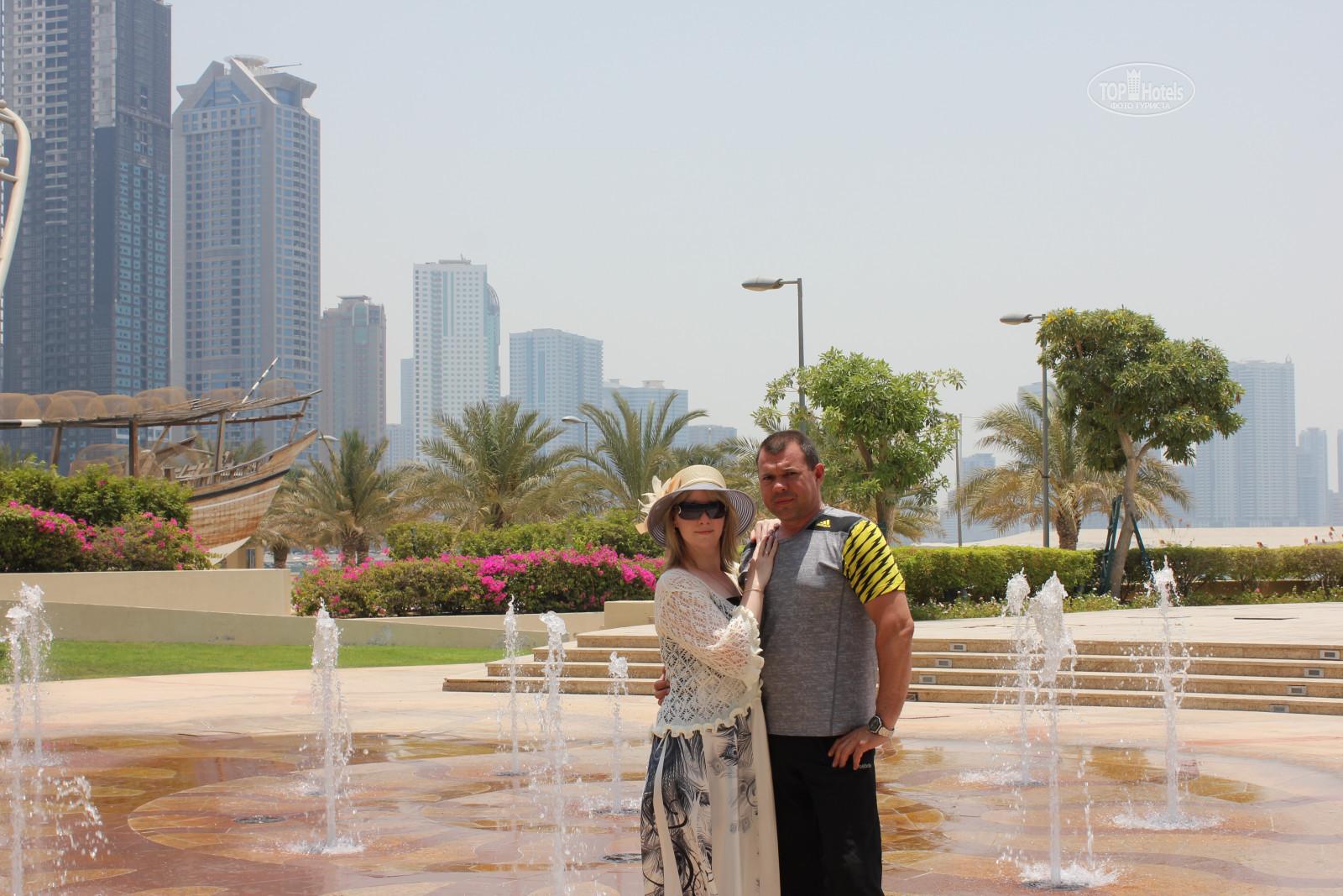 Фото туристов в ОАЭ